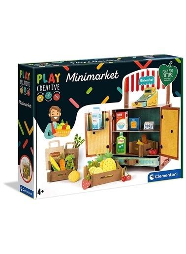 Clementoni 18550 Play Creative - Mini Market / +4 Yaş Renkli